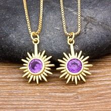 2020 delikatny słonecznik wisiorek Choker naszyjnik dla kobiet kreatywna moda biżuteria łańcuszek naszyjnik z amuletem akcesoria Party prezent