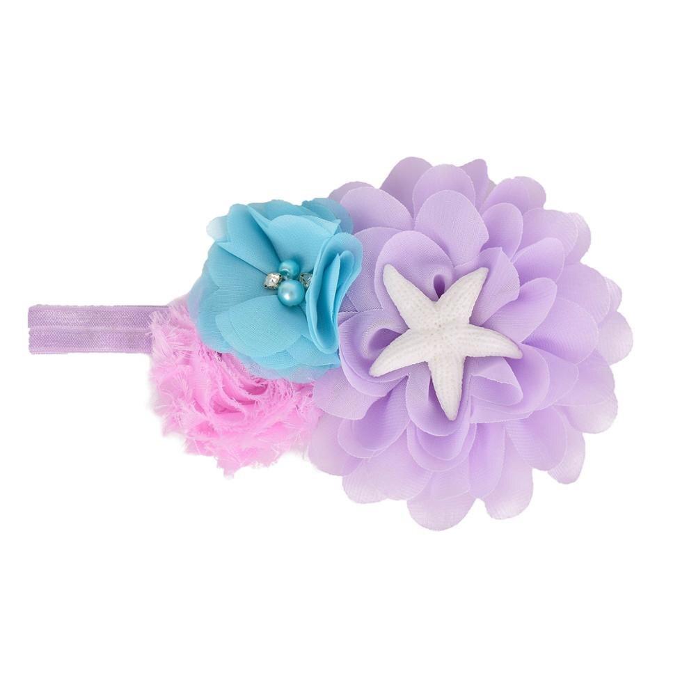 Girls Pastel Mermaid Tutu Dress Under the Sea Theme Birthday Party Costume with Flower Headband Ocean Flower Dresses 1-12Y 5