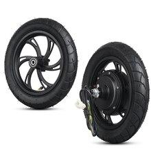 Мотор для электроскутера 36 в 500 Вт, заднее колесо двигателя, бесщеточный мотор ступица, комплект для велосипеда, электрический велосипед Вт, 12 передних колес двигателя Citycoco