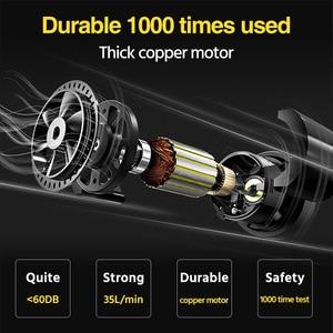 Image 3 - Dropshipping cyfrowe sprężarki powietrza przenośne elektryczne pompy powietrza samochodu czarny DC 12V opon Inflador 150 PSI Autocompressor