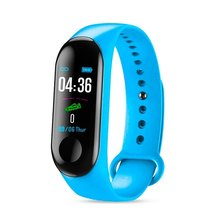M3 Smart Wristband Bracelet Fitness Tracker Pedometer Blood Pressure Heart Rate Monitor Waterproof Wristband k6 color screen smart wristband sports bracelet heart rate blood pressure monitor fitness tracker for samsung galaxy s6 s5 s4 s3