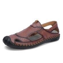 Новинка 2020 мужская обувь летние сандалии мужские повседневные
