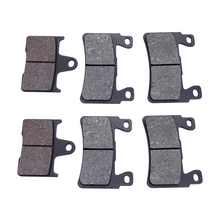 1 Set Motorcycle Brake Pads Front And Rear Disks For HONDA CB400 1999-2003 CB 1300 FW/FX/FY/F1 (SC40) 1998-2001 Motorbike Parts for suzuki gsf1200 96 00 motorcycle front and rear brake pads set