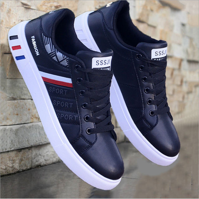 2021 New Men Flat Shoes Summer Breathable Solid Lace Up Male Business Travel Shoes Casual Light Comfortable Low Heel Men Shoes 3
