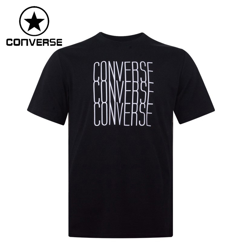 Original New Arrival  Converse LogoRemixTee  Men's T-shirts short sleeve Sportswear