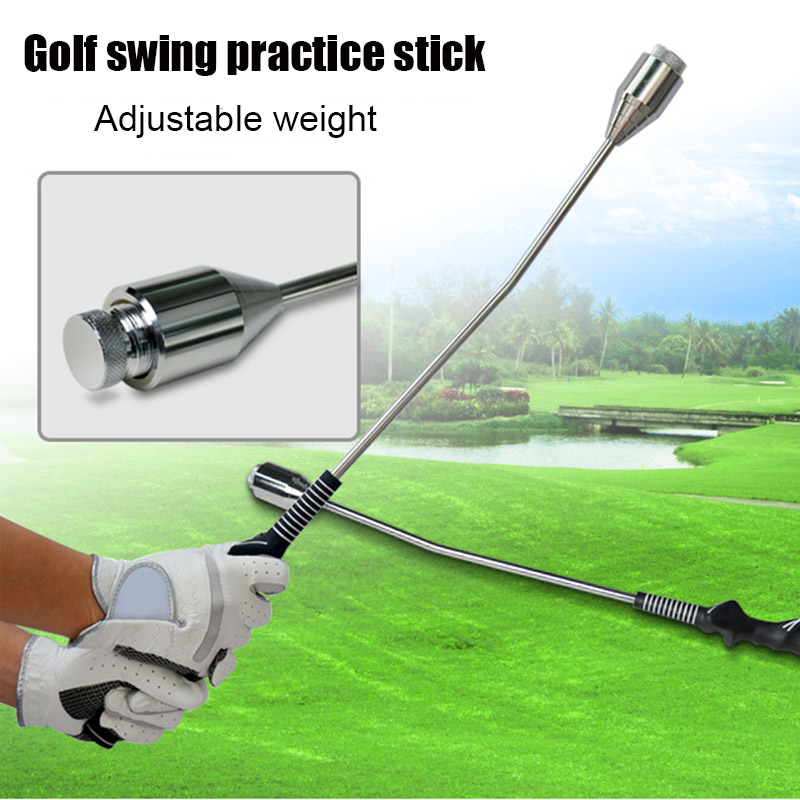 Outdoor Golf Swing Training Aids Stick For Tempo Grip Strength Training Sport Supplies YA88