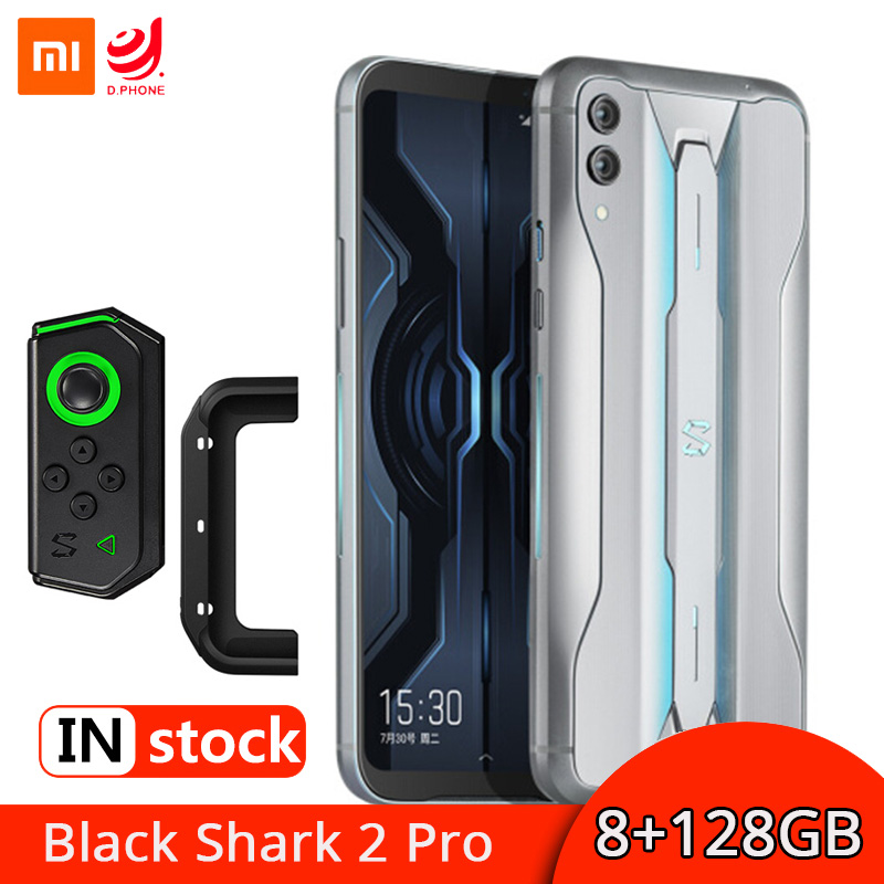 "Global Version Xiaomi Black Shark 2 Pro 8GB 128GB Gaming Smartphone Snapdragon 855 Plus 6.39"" Screen Mobile Phone 48MP Camera"