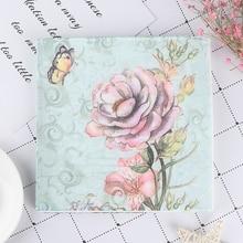 20PCS Napkins paper Decoupage Tissue Flowers Wedding Birthday DIY Decoration