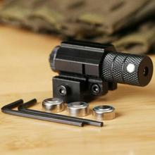 Великобритания Красный точка лазерный прицел с 20 мм Вивер Пикатинни Крепление