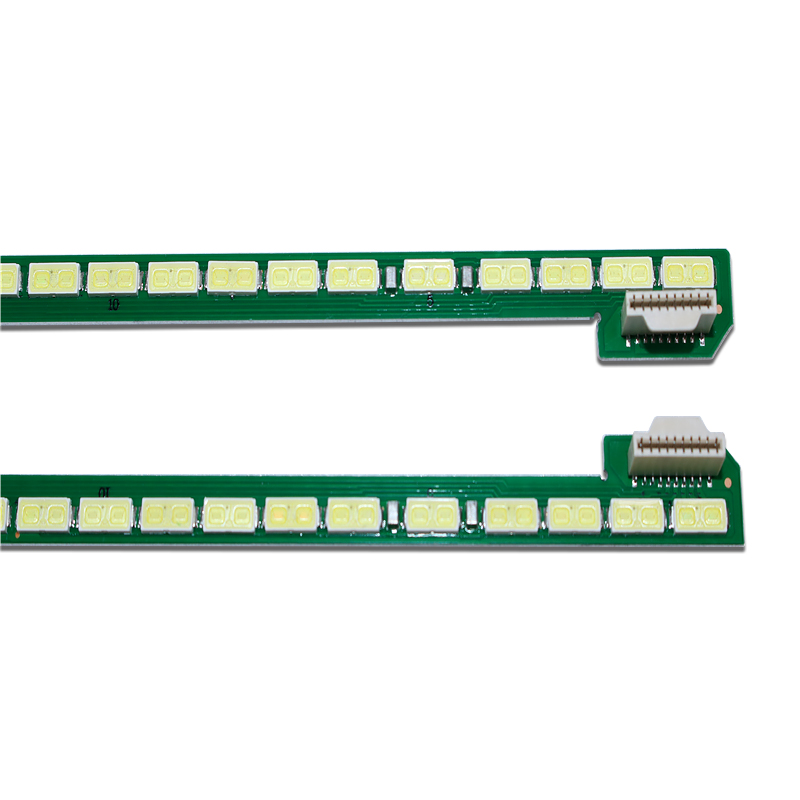 New Kit 2 PCS 66LED 535mm LED Backlight Strip For LG 49UF695V 6922L-0128A LC490EQE 6916l1722B 6916l1723B 49 V14 ART TV R L Type