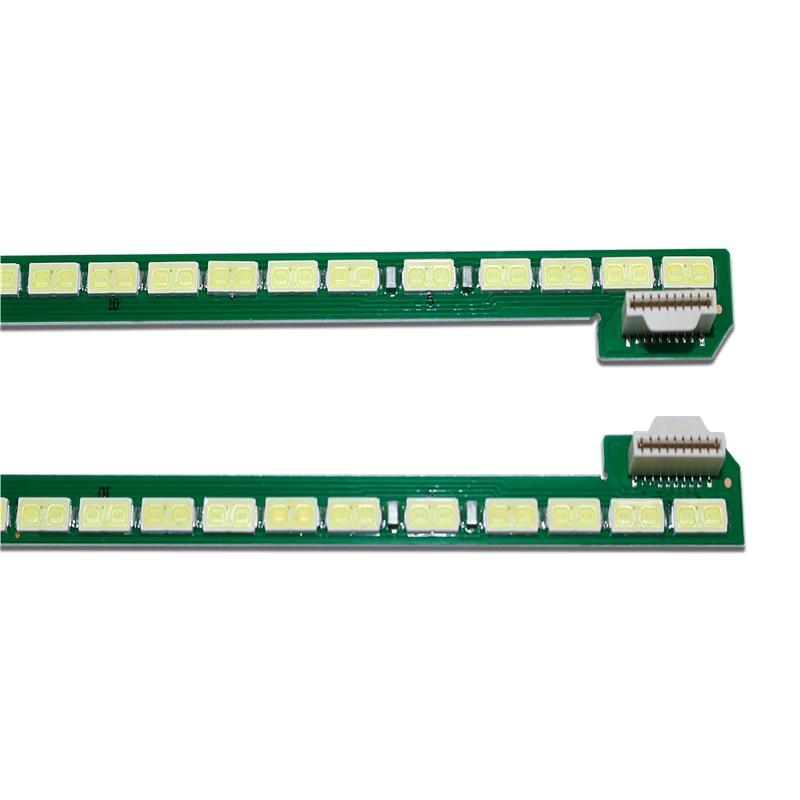 New Kit 2 PCS 66LED 535mm LED Backlight Strip For LG 49UF695V 6922L-0128A LC490EQE 6916l1722B 6916l1723B 49 V14 ART TV R L Type