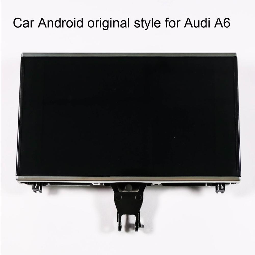 8 inch Car Android 8.1 original style for <font><b>Audi</b></font> <font><b>A6</b></font> 2011-2018 <font><b>GPS</b></font> <font><b>Navigation</b></font> Car Multimedia Player image