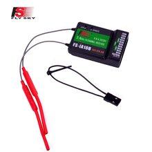 Flysky FS-iA10B 2.4g 10ch afhds receptor para FS-i10 FS-i6 FS-i6X fs i6 controle remoto transmissor fpv racer peças