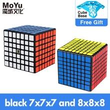 مكعبات سحرية MoYu meilong 6x6x6 7x7x7 8x8x8 مكعبات MofangJiaoshi 4x4 5x5 6x6 7x7 8x8 لغز سرعة cubo Magico التعليمية لعب الأطفال