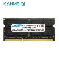 KANMEIQi DDR3 laptop Speicher 4GB 1333MHz 1600/1866MHz sodimm Notebook Ram Hynix chip SEC chip SK chip Neue-in Arbeitsspeicher aus Computer und Büro bei