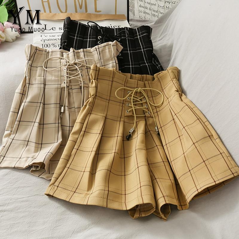 High Waist Bandage Vintage Shorts 1