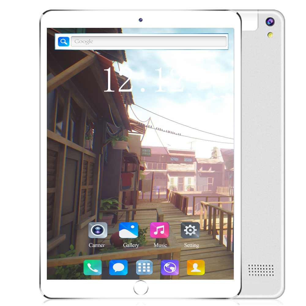 2020 New Version 10.1 Inch Tablet PC Android 8.0 Octa Core 6GB RAM 128GB ROM 1280*800 IPS Dual SIM Card WiFi 10 10.1 Tablet