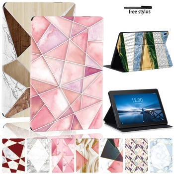 New 2021 Case for Lenovo Tab E10 Tablet/Tab M10 Cover Drop Resistance Leather Pu Protective Cover Shell