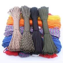 Парашютный шнур веревка mil spec type iii 7 нитей для скалолазания