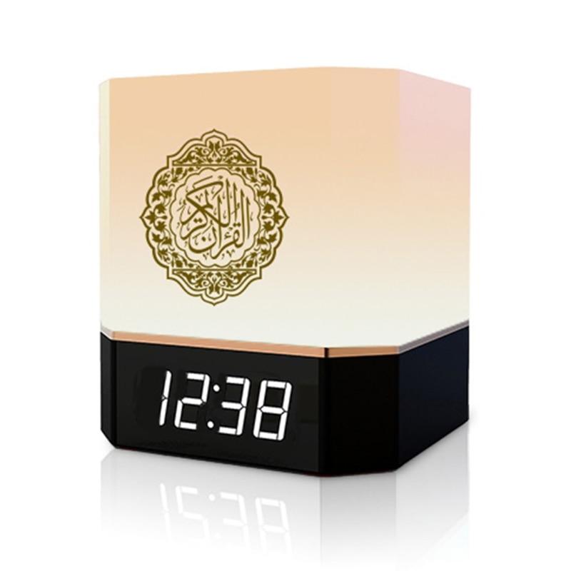 Bluetooth динамик беспроводной дистанционный светодиодный ночной Светильник Смарт-приложение управление цифровые часы с азаном с Кораном рекв...