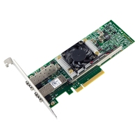 10Gb PCI Express 8X Ethernet Network Card (for Broadcom BCM57810S Controller), Dual SFP+ Port Fiber Server Adapter, with Low Pr