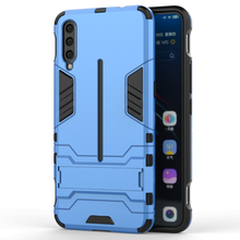 TPU business mobile phone shell anti-fall sleeve with bracket FOR:VIVO Y91 X6 X7 X9S X20 X21i X23 X27 Play5 plus Pro case