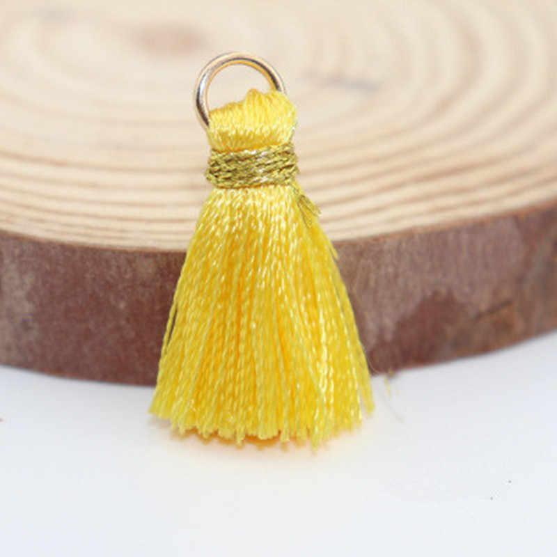 10 יח'\חבילה מיני כותנה גדילים קטן גדילים עבור תכשיטי ביצוע ספקי צמיד שרשרת ממצאי & רכיבים חומר