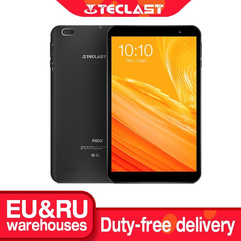 Teclast tablette PC de 8 pouces P80X, syllabe avec Android 9.0, 4G, SC9863A Octa Core, 1280x800 IPS, 2 go de RAM, 32 go de ROM, GPS, double caméra | AliExpress