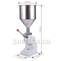 A03 Quantitative Füllung Maschine Manuelle Befüllung Maschine Paste Füll Maschine Flüssigkeit Kosmetische Füll Maschine Edelstahl-in Küchenmaschinen aus Haushaltsgeräte bei