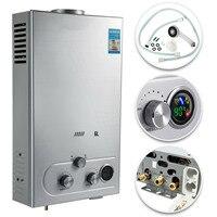 Portátil 6l gás natural tankless instantânea aquecedor de água quente caldeira útil|Peças p/ aquecedor de água a gás|   -