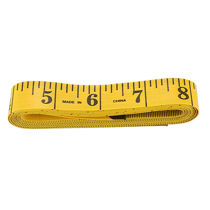 Yellow Tailor Craft Flexible Ruler Measuring Tape 300 Cm