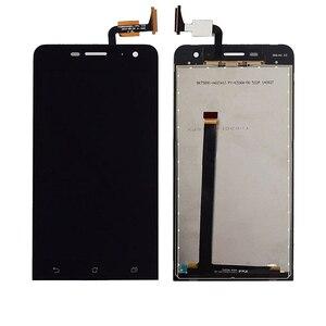 Image 5 - Originele Voor Asus Zenfone 5 Lite A502CG T00K Lcd Touch Screen Digitizer Vergadering Voor Asus A502cg Display Met Frame Vervanging