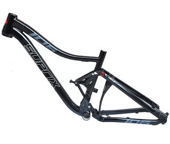 Last Full Suspension Aluminium frame Alloy MTB Mountain DH Cycling Bicycle Frame 26/27.5er*17 15.5 inch Downhill Bicycle Part
