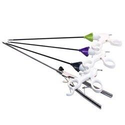Instrumentos de entrenamiento de simulación laparoscópica de equipos educativos tijeras/pinzas de separación/pinzas de soporte de aguja