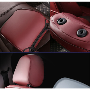 Image 3 - Leather custom car seat covers For Audi A6L Q3 Q5 Q7 S4 A5 A1 A2 A3 A4 B6 b8 B7 A6 c5 automobiles car accessories