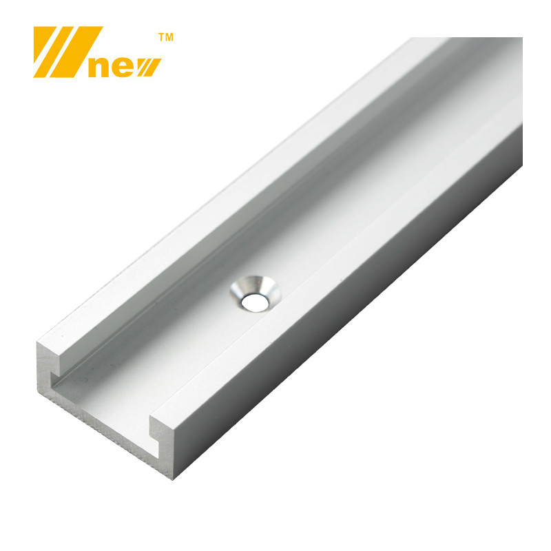 Type-30 Woodworking T Track Slot 30-80cm Aluminium Alloy T-tracks Slot Miter Track For Router Table Workbench DIY Tools