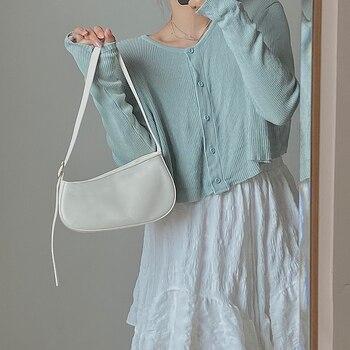 Jin Mantang Chain Leather women shoulder crossbody bag fashion High quality designer Handbags 2020 new
