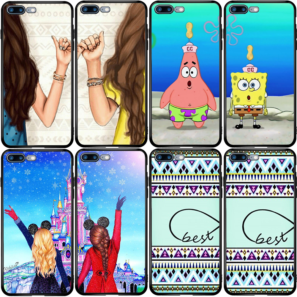 Чехол для девочек Best Friends BFF, чехол для Huawei Honor Y5 Y6 Y7 Y9 Y9S Pro Prime 2017 2018 2019 Nova 3i 4E 5Z 6SE 7SE