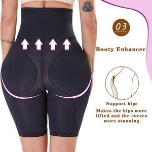 Image 3 - Minifaceminigirl Afslanken Schede Buik Vrouwen Butt Lifter Shapewear Panty Gewatteerde Dij Trimmer Afval Trainer Bindmiddelen En Shapers