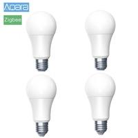 4pcs Original Xiaomi Mijia Aqara Birne Zigbee Version Smart Remote Led lampe Xiomi Lampe Licht für Mi Hause APP homekit Gateway|Smarte Fernbedienung|   -