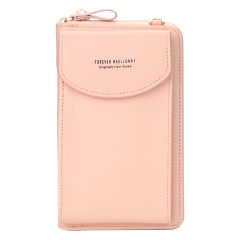 2021 Women Wallet Famous Brand Cell Phone Bags Big Card Holders Handbag Purse Clutch Messenger Shoulder Long Straps Dropshipping 5