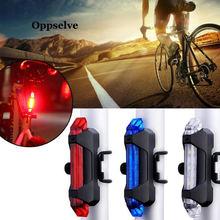 Велосипедный светильник водонепроницаемый задний фонарь светодиодный