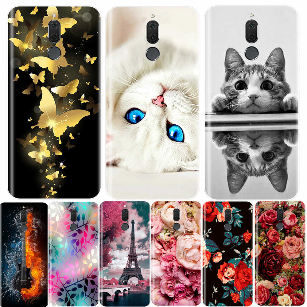 Telefoon Geval Voor Huawei Mate 10 Lite Zachte Siliconen TPU Ultra Dunne Koele Painted Achterkant Voor Huawei Mate 7 8 9 Lite Pro Case