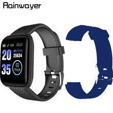 Pulsera inteligente deportiva 116 Plus D13 D18, reloj inteligente deportivo con podómetro y medidor de presión arterial