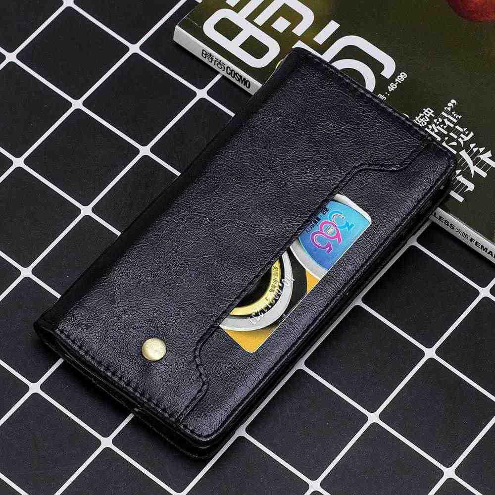 KISSCASE יוקרה עור מקרה עבור iPhone XR 7 11 פרו מקס XS מקס מגנטי Flip כיסוי Coques עבור iPhone 6S 6 7 8 בתוספת X מחזיק מקרה