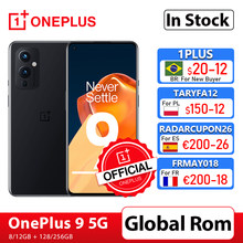 Globalny Rom OnePlus 9 5G Snapdragon 888 8GB 128GB Smartphone 6.5 ''120Hz płyn AMOLED kamera Hasselblad OnePlus oficjalny sklep; code: TARYFA12($150-12)TARYFA10($100-10)