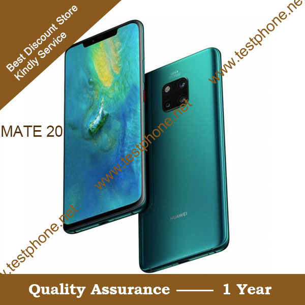 Free Shipping DHL + Huawei Mate 20 X 5G Handsets , Support DingLi & Probe Test 5G Network
