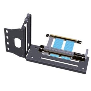 Image 2 - كابل تمديد PCIE 4.0 16x لبطاقة الرسومات من الكمبيوتر كابل مرن كامل السرعة 4.0 وحدة معالجة الرسومات كابل الناهض 90 درجة لatx PC Case /ASUS ROG الشاسيه