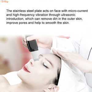 Image 4 - USB Ultrasonic Deep Face Cleaning Machine  Blackhead Remover Ultrasonic Facial Cleaner Spatula  Wrinkles and spots Facial  White