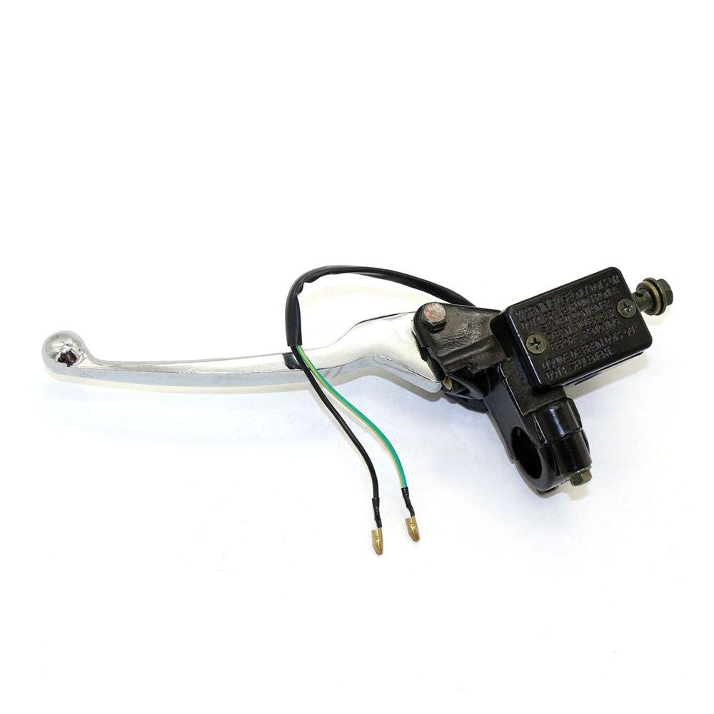 Brake Master Cylinder Rear Brake Lever Brake Light Switch For Motorcycle atv  GY6 50cc 150cc Left disc brake pump assembly